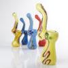 Sklep Fajki z Bajki - Lufka Szklana Wodna Spoon Pipe, małe bongo przenośne